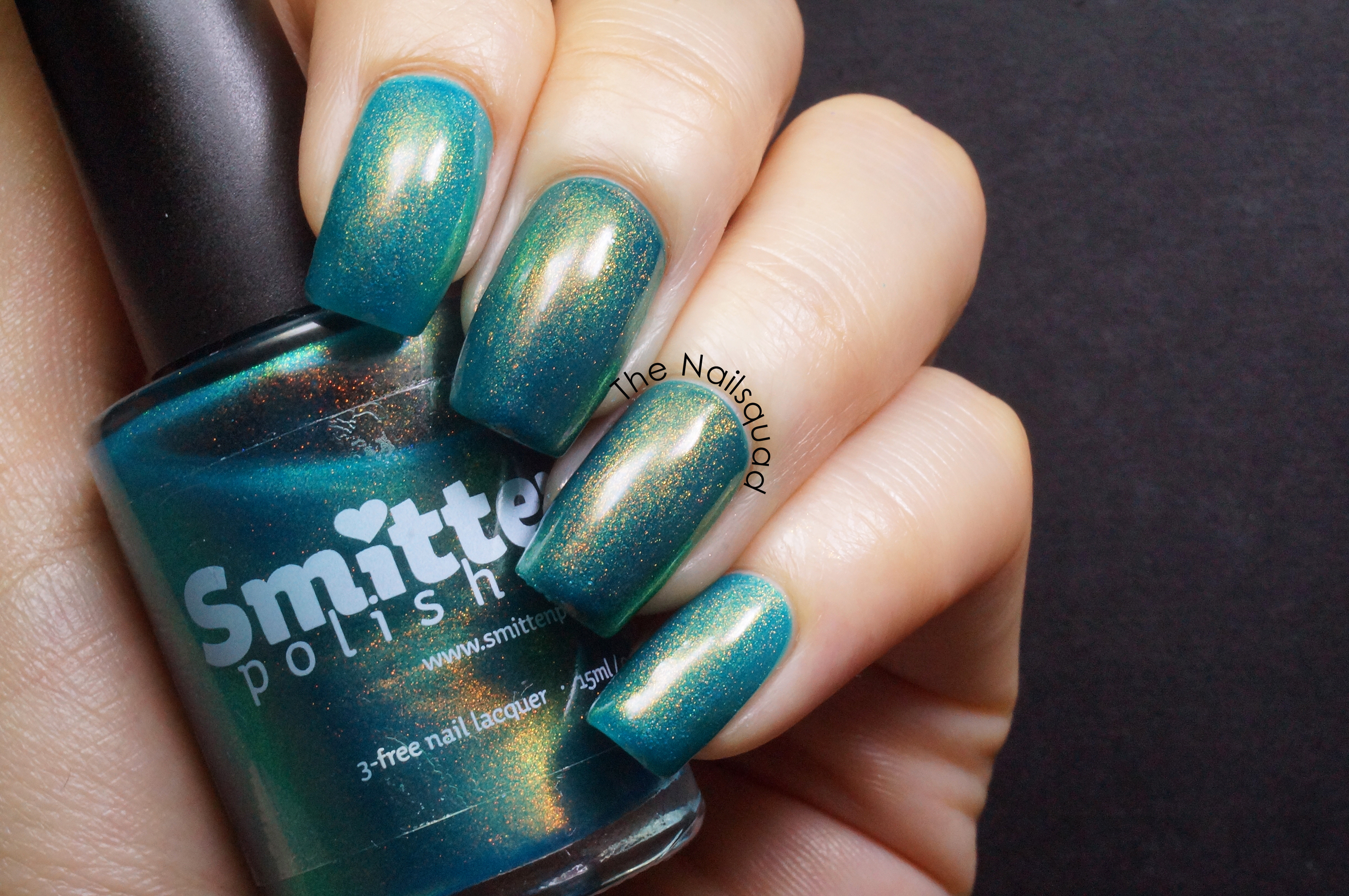 A Wedding Dress That Isn't Bright Turquoise by Smitten Polish ...
